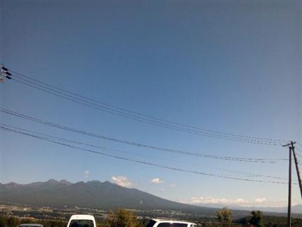 富士見はすっかり秋ですなぁ